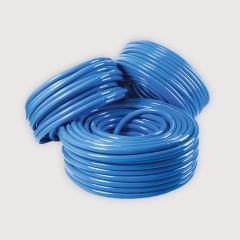 Polywood โพลีวูด - สายยางเด้งสีฟ้า ขนาด 1/2'' (4หุน)