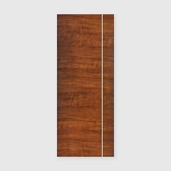 ประตู Vinyl PW HORIZONTE LPNH-001W DARK MOCCA 80x200 เจาะลูกบิด